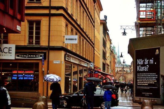 Rainy Stockkolm